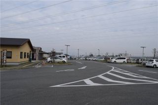 道の駅おおき 駐車場